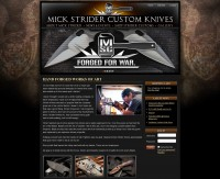 Mick Strider Custom Knives