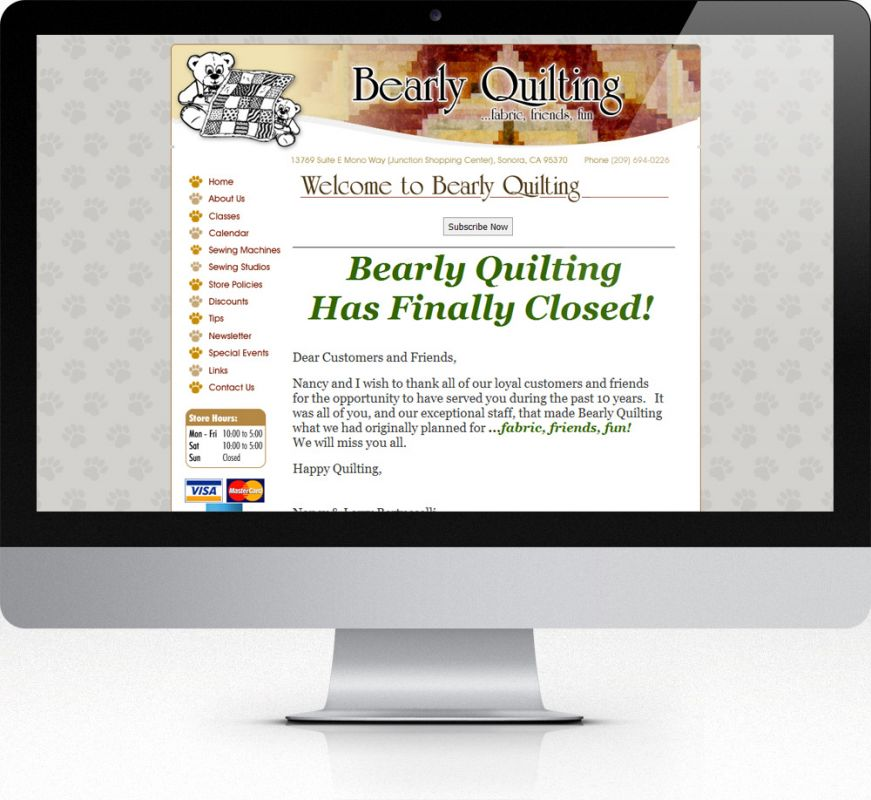 Bearly Quilting