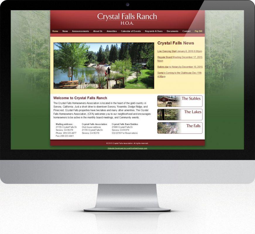 Crystal Falls Association