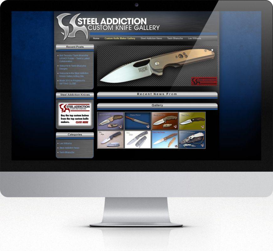 Steel Addiction Custom Knife Gallery