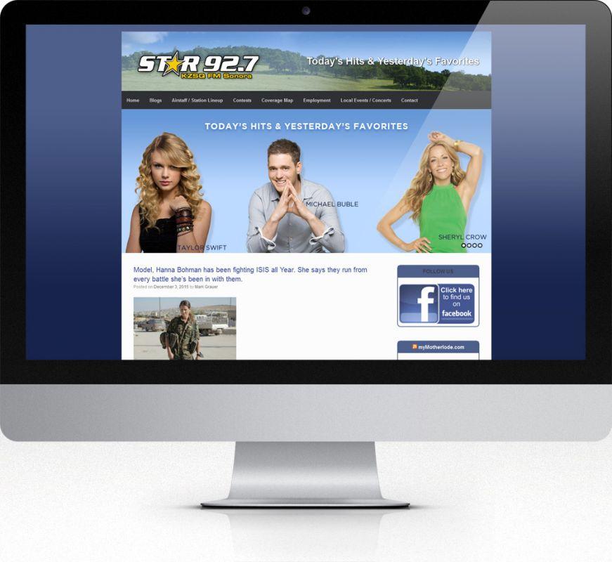 STAR 92.7 KZSQ FM