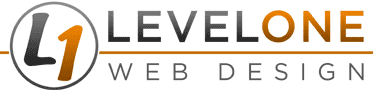 Level One Web Design Logo