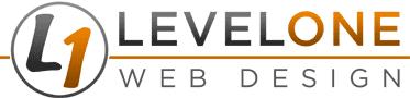Level One Web Design Logo