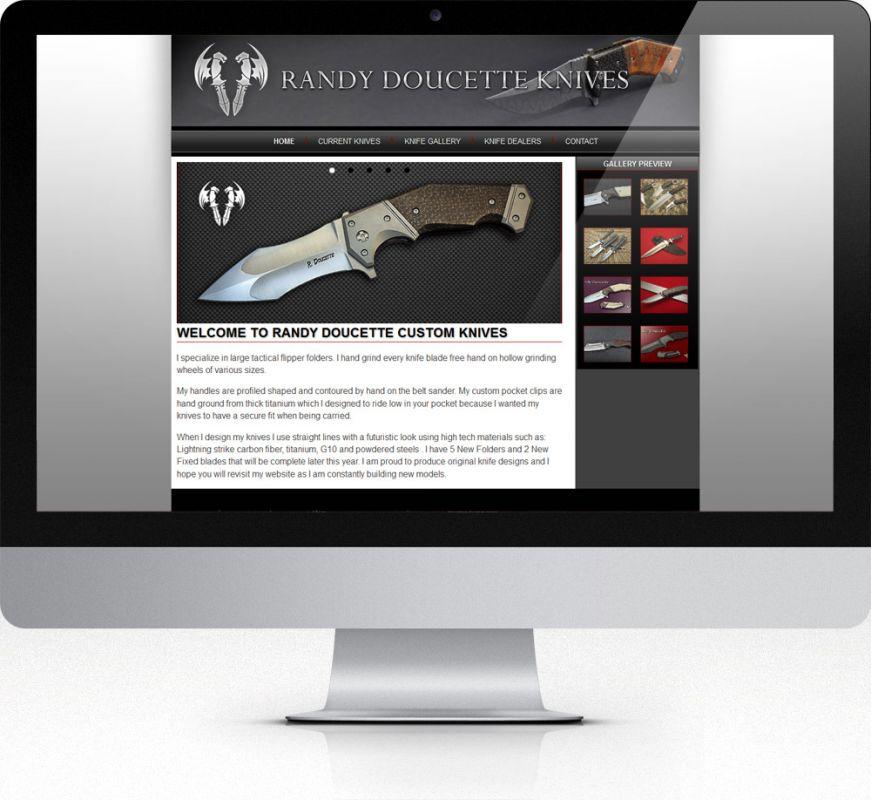Randy Doucette Custom Knives
