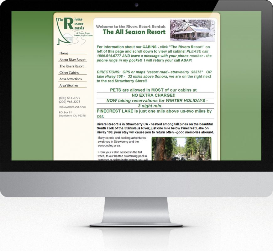 The Rivers Resort Rentals