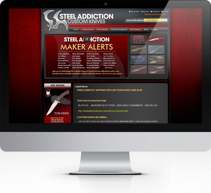 Steel Addiction Custom Knives
