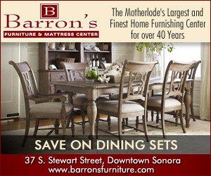 Barron's Furniture - IAB Medium Rectangle Banner Design