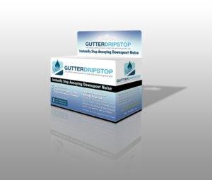 Gutter Drip Stop 3D Box Design