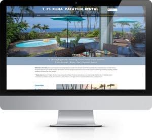 7 C's Kona Vacation Rental
